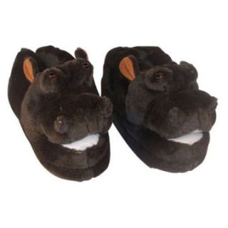 Comfy Feet Hippo Animal Feet Youth Slippers   Kids Slippers