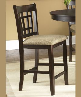 Liberty Furniture Santa Rosa 24 in. Counter Stool   Set of 2   Dining Chairs