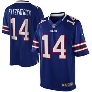 Nike Ryan Fitzpatrick Buffalo Bills Limited Game Jersey   Royal Blue