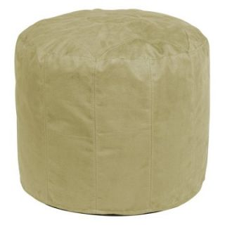 Howard Elliott Tall Pouf Microsuede Ottoman   Ottomans