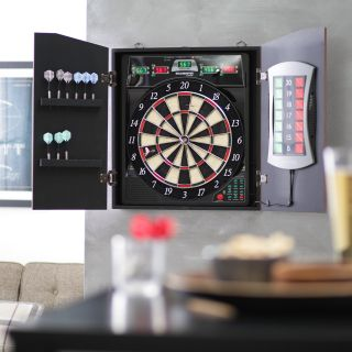 Bullshooter by Arachnid E Bristle CricketMaxx 5.0 Electronic Dart Board   Bristle Dart Boards