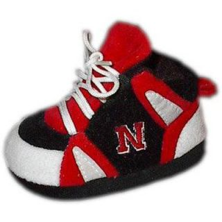 Comfy Feet NCAA Baby Slippers   Nebraska Cornhuskers   Kids Slippers
