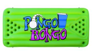 Airhead Pongo Bongo Beer Pong Table with 2 Balls   Swimming Pool Games & Toys