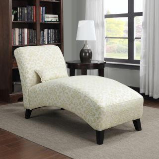 Handy Living Chaise Lounge   Maya Pearl   Indoor Chaise Lounges