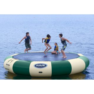 RAVE Sports 20 ft. Northwoods Bongo Water Bouncer   Water Trampolines