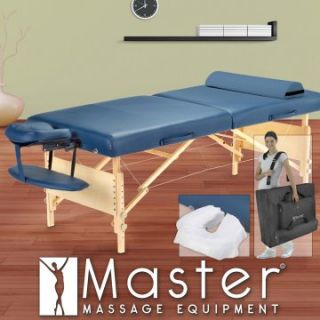 Master Massage 30 in. Coronado LX Massage Table Package with FREE Accessories   Massage Tables