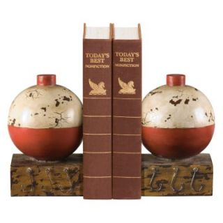 Elk Lighting Fishing Bobber Bookends   Bookends