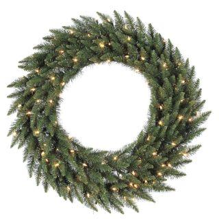 72 in. Camdon Fir Pre lit Christmas Wreath   Christmas Wreaths