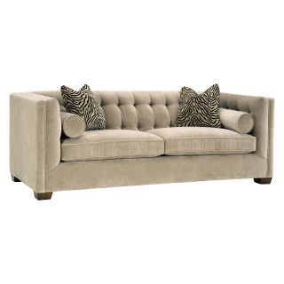 Lazar Tommy Bellisimo Cafe Fabric Sofa with Pillows   Sofas