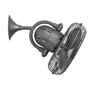 Matthews Kaye Oscillating Wall Fan   13W in.   Indoor Fans