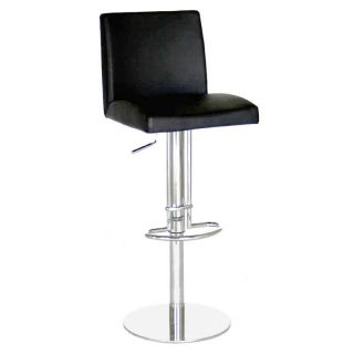 Baxton Studio Adjustable Salon Swivel Counter Stool   Bar Stools