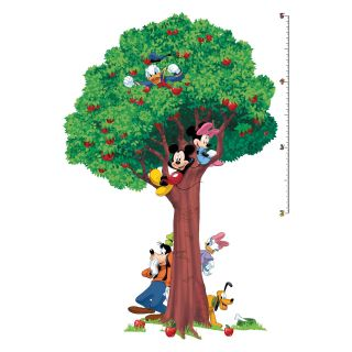 Mickey and Friends Peel and Stick Growth Chart   Kids and Nursery Wall Art