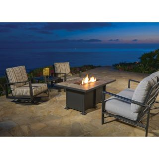 O.W. Lee Gios Conversation Set with Fire Pit   Conversation Patio Sets