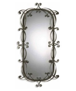 Garner decorative full length silver wall leaning floor mirror 24w x 75h wall mirrors - Full length decorative wall mirrors ...