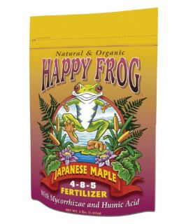 Happy Frog Japanese Maple   Nutrients