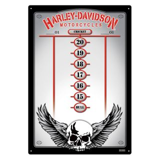 Harley Davidson Skull Medium Scoreboard   Bristle Dart Boards
