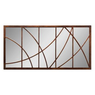 Loudon Antique Bronze Wall / Leaning Floor Mirror   30W x 60H in.   Wall Mirrors