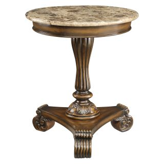 Coast to Coast 43376 Round Wood End Table   End Tables