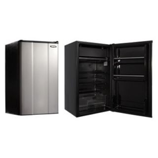 MicroFridge 20112E 3.6 cu. ft. Refrigerator   Stainless Steel   Small Refrigerators