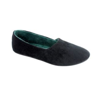 Kiki Womens Slip on Slippers by Daniel Green   Black   Womens Slippers