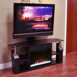 Muskoka Domus Electric Fireplace Media Console   TV Stands