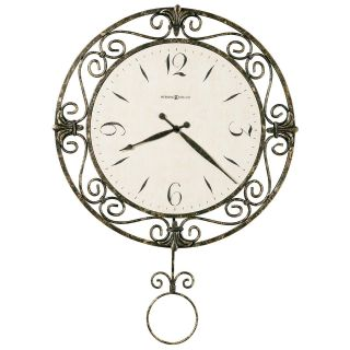 Howard Miller Camilla Wall Clock   22.25 Inches Wide   Wall Clocks