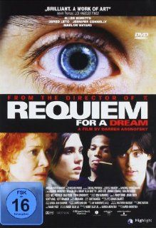 Requiem for a Dream: Ellen Burstyn, Jennifer Connelly, Jared Leto, Marlon Wayans, Christopher McDonald, Louise Lasser, Sean Gullette, Hubert Selby Jr., Clint Mansell, Eric Watson, James Chinlund, Brian Emrich, Nick Wechsler, Jay Rabinowitz, Ben Barenholtz,