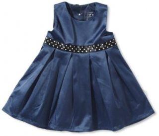 NAME IT Baby   M�dchen Kleid 13083646   POWER MINI SPENCER WL X AU12, Gr. 74, Blau (DRESS BLUES): Bekleidung