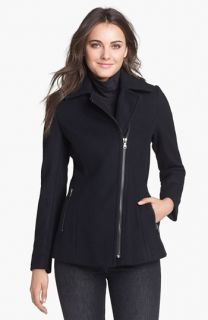 Kristen Blake Asymmetrical Wool Blend Coat ( Exclusive)