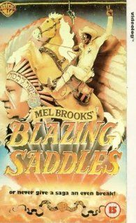 Blazing Saddles [UK Import] [VHS]: Cleavon Little, Gene Wilder, Slim Pickens, Harvey Korman, Madeline Kahn, Mel Brooks, Norman Steinberg, Andrew Bergman, Richard Pryor, Alan Uger, David Huddleston, Claude Ennis Jr. Starrett: VHS