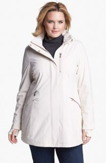Kristen Blake Raincoat with Detachable Hood (Plus Size)