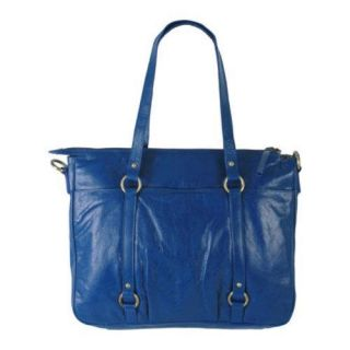 Women's Latico Marcela 7936 Blue Leather Latico Shoulder Bags