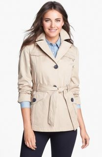 Ellen Tracy Safari Trench Jacket with Detachable Hood (Regular & Petite) ( Exclusive)
