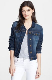 Paige Denim Vermont Distressed Denim Jacket