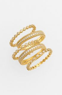 Freida Rothman Stackable Rings (Set of 5)