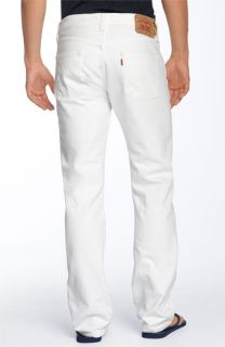 Levis® Red Tab™ 501 Straight Leg Jeans (White Wash)
