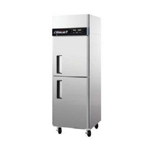 Turbo Air JRF 19 Refrigerator Freezer Combo Dual Temp Stainless Steel Cooler: Appliances