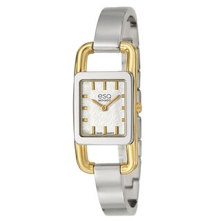 ESQ by Movado Women's 'Angle' Yellow Goldplated Swiss Quartz Watch ESQ by Movado Women's ESQ Watches