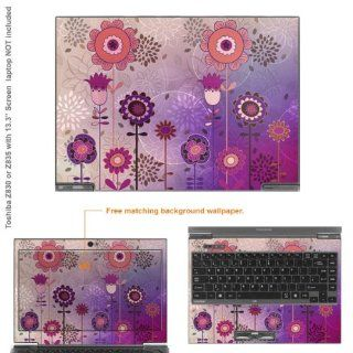 "Decalrus   Matte Decal Skin Sticker for Toshiba Portege Z935 with 13.3"" screen (NOTES: view IDENTIFY image for correct model) case cover MAT Z935 189: Electronics"