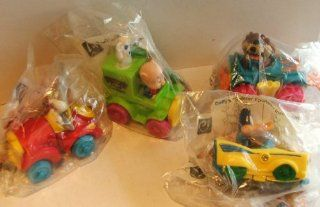 Vintage Mcdonalds Premiums Set of 4 Looney Tunes Cars Mib Bugs Bunny Daffy Duck Porky Pig Tasmanian Devil Toys & Games