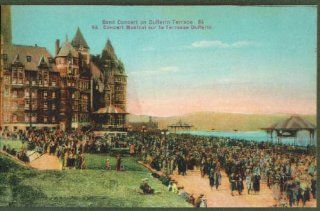 Band Concert Dufferin Terr ON postcard 191?: Collectibles & Fine Art