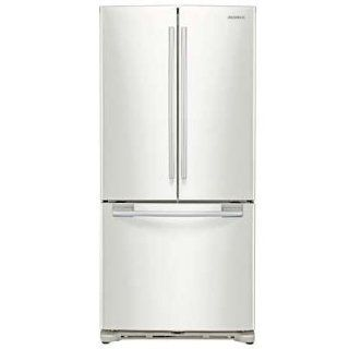 Samsung RF197ACWP 18 cu. ft. French Door Refrigerator   White Pearl: Appliances