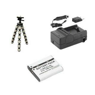 Olympus Stylus Tough TG 630 Digital Camera Accessory Kit includes: SDLI50B Battery, SDM 192 Charger, GP 10 Tripod : Camera & Photo