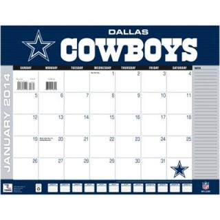 Dallas Cowboys 2014 22 x 17 Desk Calendar