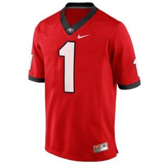 Nike Georgia Bulldogs Preschool #1 Replica Master Jersey   Red