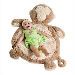 Bestever New Baby monkey mat Rug plush toy Cushion gift: Toys & Games