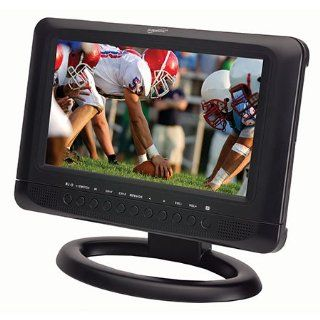 "Supersonic Sc 199 9"" Portable Rechargeable Lcd Tv/dvd with Usb & Sd Inputs: Electronics"