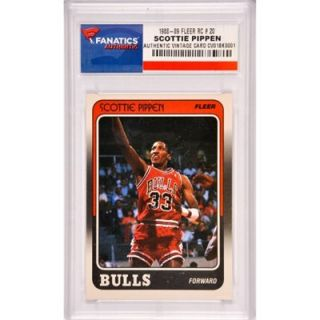 Scottie Pippen Chicago Bulls 1988 1989 Fleer Rookie #20 Card