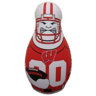 Wisconsin Badgers 40 Inflatable Tackle Buddy Punching Bag
