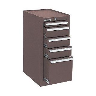 "KENNEDY 205XB 5 DRAWER HANG ON CABINET BROWN 13 5/8""x 20\""x 29 1/16\"": Industrial & Scientific"